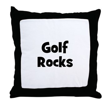 GOLF Rocks Pillow