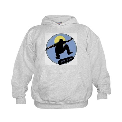 Air Feet  Sports Kids Hoodie by CafePress