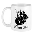 Pirate ship Cabin Girl, that's your role, and a fun one it is.