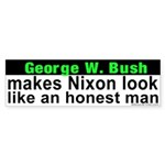 Bush makes Nixon look honest Sticker
