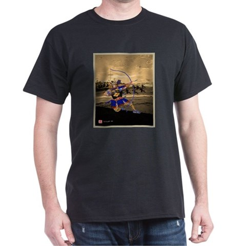 , Battles of Kawanakajima Art Dark T-Shirt by CafePress