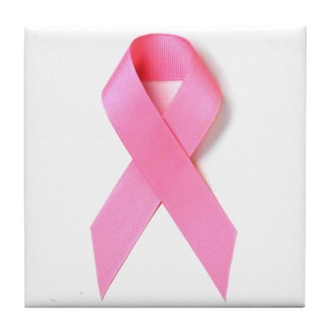 Breast Cancer Awareness  Breast cancer Tile Coaster by CafePress