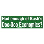 Doo-Doo Economics Bumper Sticker