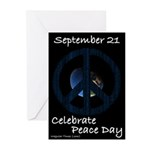 Peace Day Greeting Cards