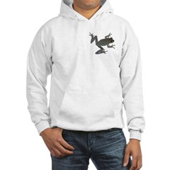 cool toad hooded sweatshirt