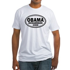 Obama-Richardson 2008 Fitted T-Shirt