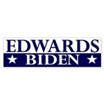 Edwards-Biden 2008 bumper sticker