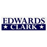 Edwards-Clark 2008 bumper sticker