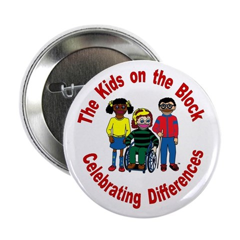 2.25 Celebrating Differences Button 10 pack Kids 2.25 Button 10 pack by CafePress