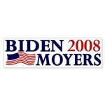 Biden-Moyers 2008 bumper sticker