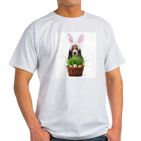 Product Image of Easter Basset Hound Light T-Shirt