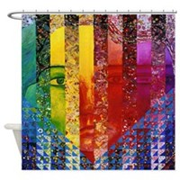 Conundrum I Shower Curtain