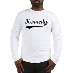Vintage: Kennedy Long Sleeve T-Shirt