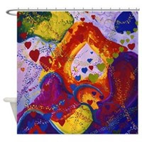 Underground - The Power of Love Shower Curtain