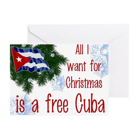 Free Cuba Christmas Cards Pk of 10 Cuba Greeting Cards Pk of 10 by CafePress