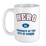 Hero Property of the City of Gaming. That's right you may or may not be a hero in real life but you play one online.