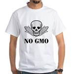 NO GMO White T-Shirt