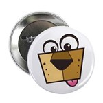"Abstract Dog 01 2.25"" Button (100 pack)"