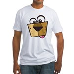 Abstract Dog 01 Fitted T-Shirt