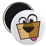 "Abstract Dog 01 2.25"" Magnet (10 pack)"