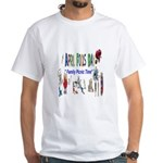 April Fools Day Picnic White T-Shirt