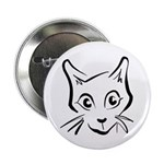 "Squiggle Cat 01 2.25"" Button (100 pack)"