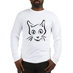 Squiggle Cat 01 Long Sleeve T-Shirt