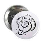 """Squiggle Dog 01 2.25"""" Button (100 pack)"""