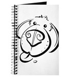 Squiggle Dog 01 Journal