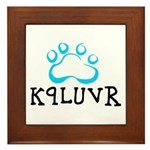 K9LUVR Framed Tile