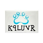 K9LUVR Rectangle Magnet (100 pack)