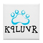 K9LUVR Tile Coaster