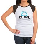 K9LUVR Women's Cap Sleeve T-Shirt