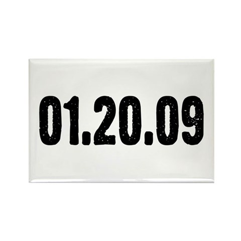 01.20.09  Political Rectangle Magnet 10 pack by CafePress