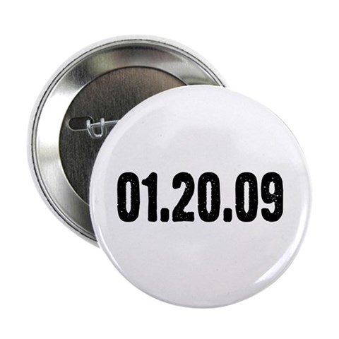 01.20.09 2.25quot; Button 100 pack Political 2.25 Button 100 pack by CafePress