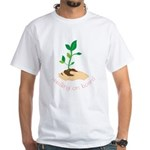Seedling On Board White T-Shirt
