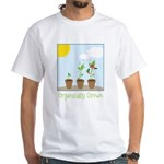Organically Grown White T-Shirt