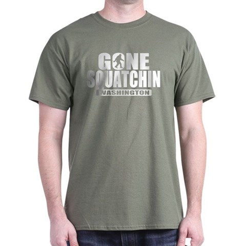 Product Image of Gone Squatchin Washington *State Edition* Dark T-S