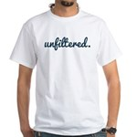 Unfiltered Pattern White T-Shirt