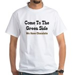 Come To The Green Side White T-Shirt