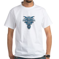 Blue Dragon 1 White T-Shirt