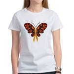MS Awareness Butterfly Ribbon T-Shirt