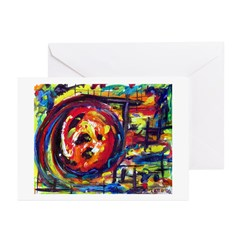 Wheel of Life Greeting Cards (Pk of 10)