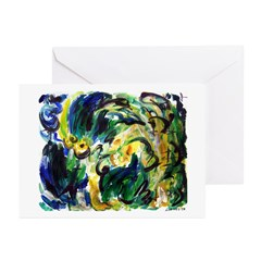 Spring Rainfall Greeting Cards (Pk of 10)