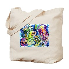 Color Whirl Tote Bag