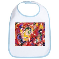 Abstract Color Sculpture Bib