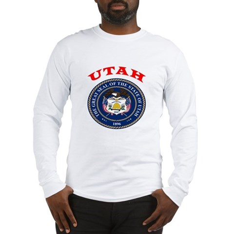 Product Image of Utah State Seal Long Sleeve T-Shirt