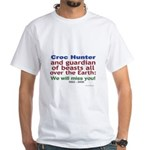 Croc Hunter White T-Shirt