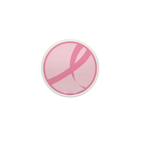 2006 RIBBON 01 - PNK  Breast cancer Mini Button 100 pack by CafePress