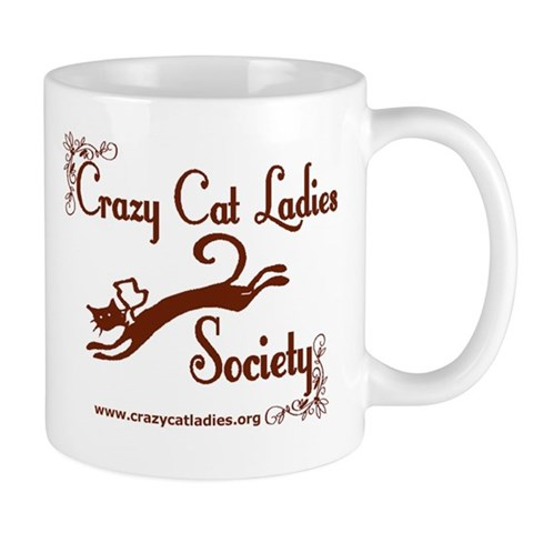 Regular - Elegant CCLS Logo Cat Mug by CafePress